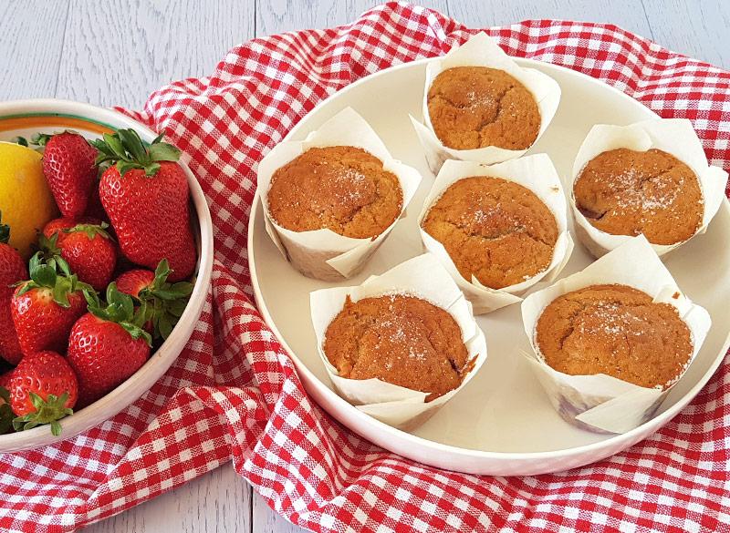 muffins-con-fragole-e-limone