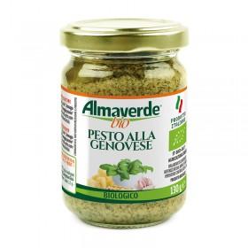 Pesto alla Genovese biologico 130g  | Almaverde Bio Shop Online