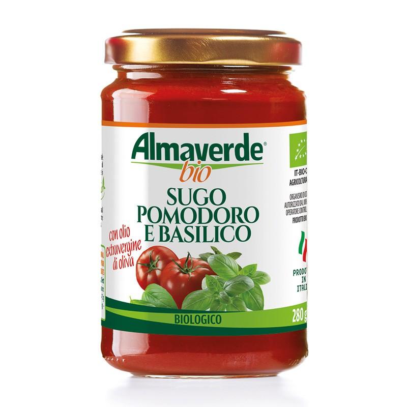 Sugo Pomodoro e Basilico 280g | Almaverde Bio Shop Online