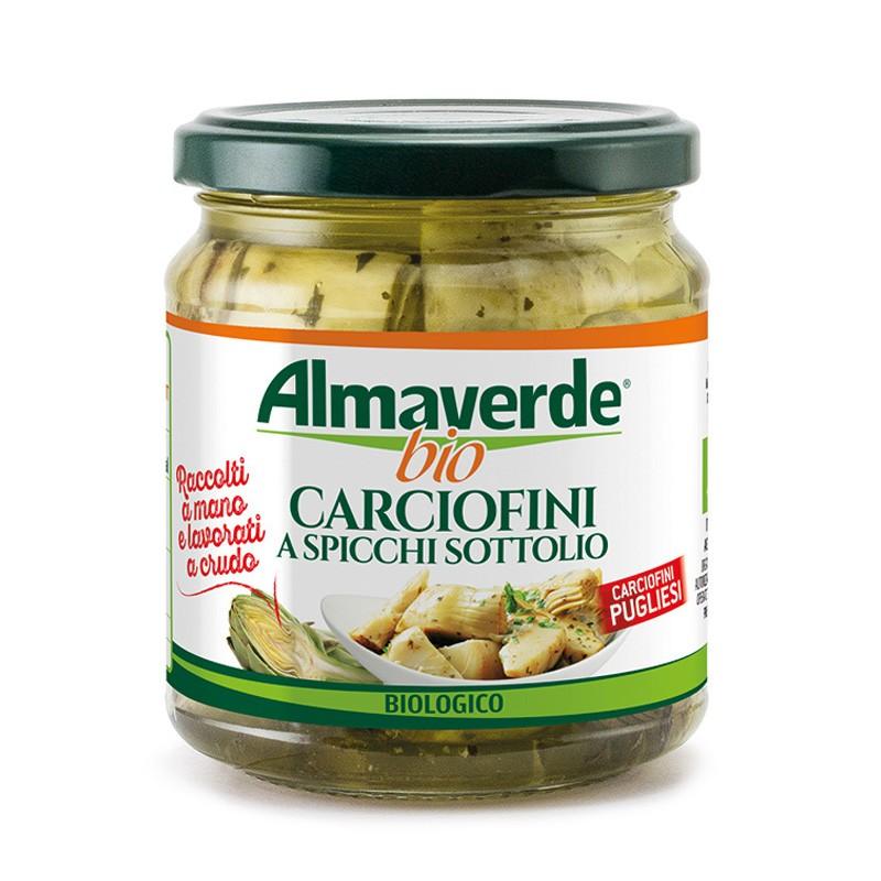 Carciofini a spicchi sott'olio 290g  | Almaverde Bio Shop Online