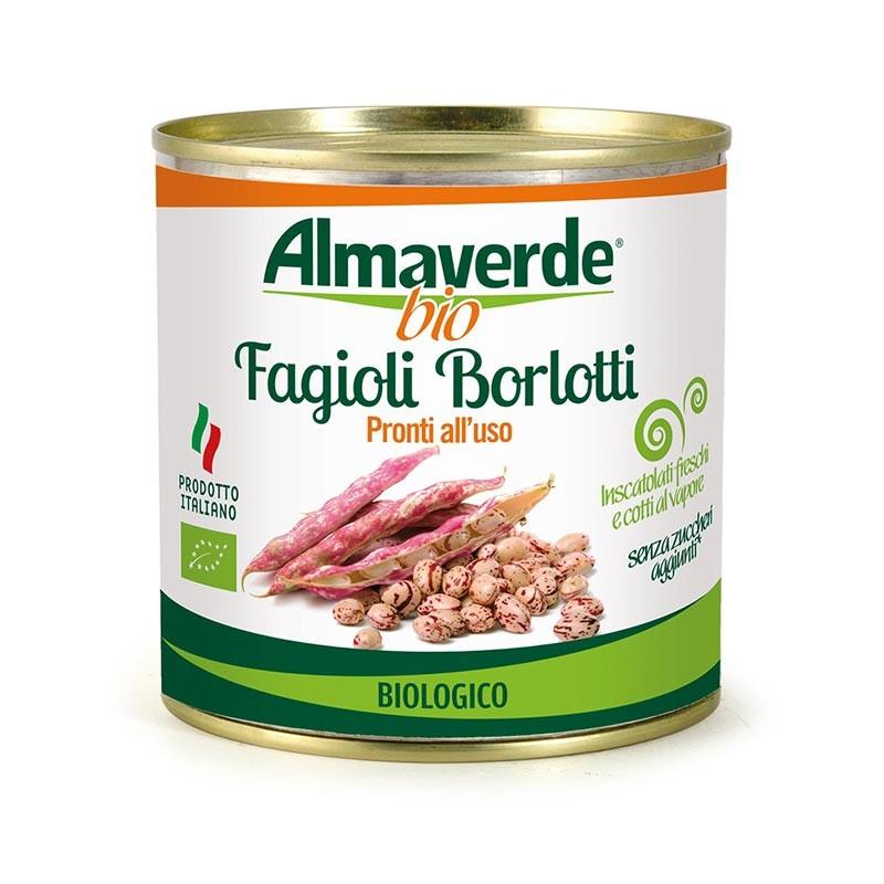 Legumi biologici Fagioli borlotti 400g | Almaverde Bio Shop Online