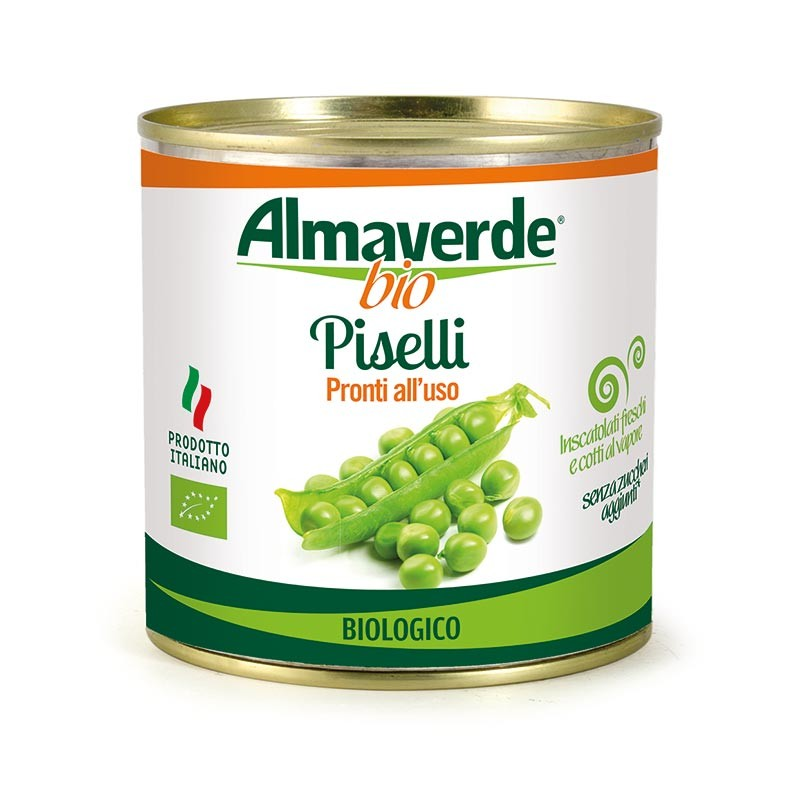 Piselli biologici 340gr| Almaverde Bio Shop Online