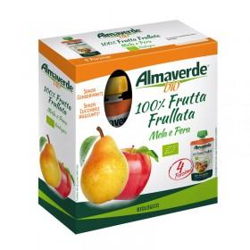 100% Frutta Frullata Mela e Pera 4x100g