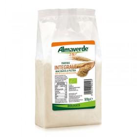 Farina di Grano tenero integrale 500g | Almaverde Bio Negozio Online