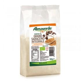 Farina di Grano Saraceno integrale 500g | Almaverde Bio Negozio Online