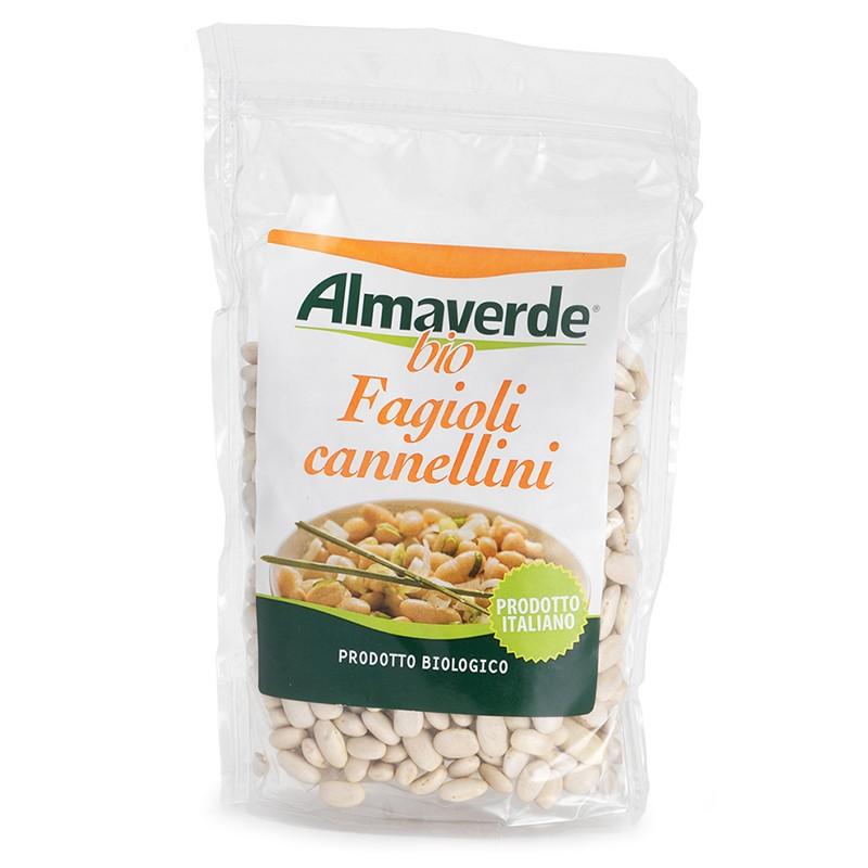 Legumi biologici Fagioli Cannellini 400g   Almaverde Bio Shop Online