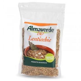 Legumi biologici Lenticchie Verdi 400g | Almaverde Bio Shop Online