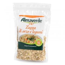 Zuppa di Orzo e Legumi 250 g - Pronta in 10 minuti! | Almaverde Bio Shop Online