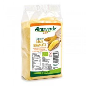 Farina di Mais bramata 500g | Almaverde Bio Negozio Online