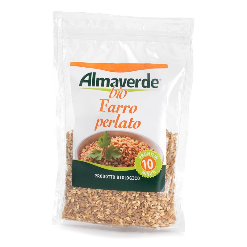Farro perlato 250 g - Pronto in 10 minuti! | Almaverde Bio Shop Online