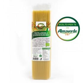 SPAGHETTI di SEMOLA di grano duro 500g | Almaverde Bio Shop Online