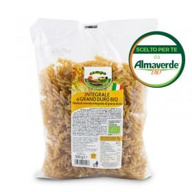 FUSILLI di SEMOLA INTEGRALE di grano duro 500g origine: Basilicata - Matera