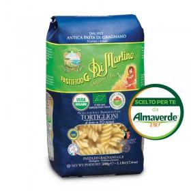 TORTIGLIONI di SEMOLA di grano duro di GRAGNANO IGP 500g | Almaverde Bio Shop Online