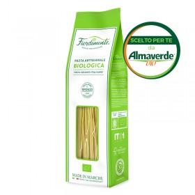 SPAGHETTI artigianali di SEMOLA di grano duro (con archetto) 500g | Almaverde Bio Shop Online