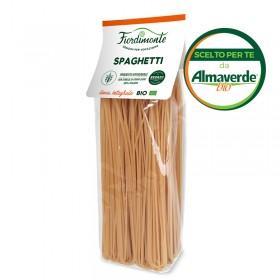 SPAGHETTI artigianali di SEMOLA INTEGRALI di grano duro (con archetto) 500g| Almaverde Bio Shop Online