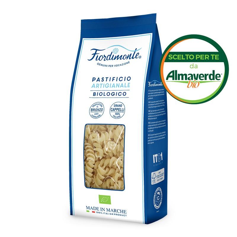 FUSILLI artigianali di SEMOLA di grano CAPPELLI 500g| Almaverde Bio Shop Online