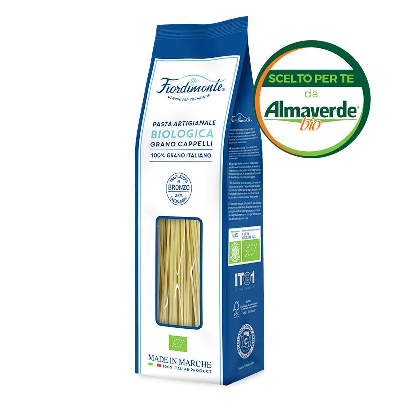 SPAGHETTI artigianali di SEMOLA di grano CAPPELLI (con archetto) 500g  Almaverde Bio Shop Online