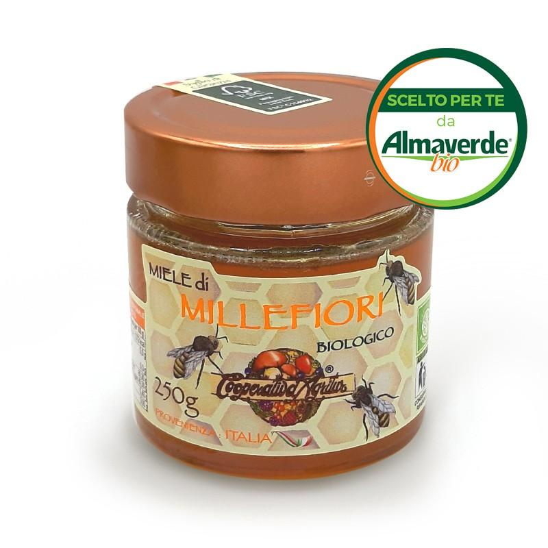 Miele di MILLEFIORI 250g | Almaverde Bio Shop Online