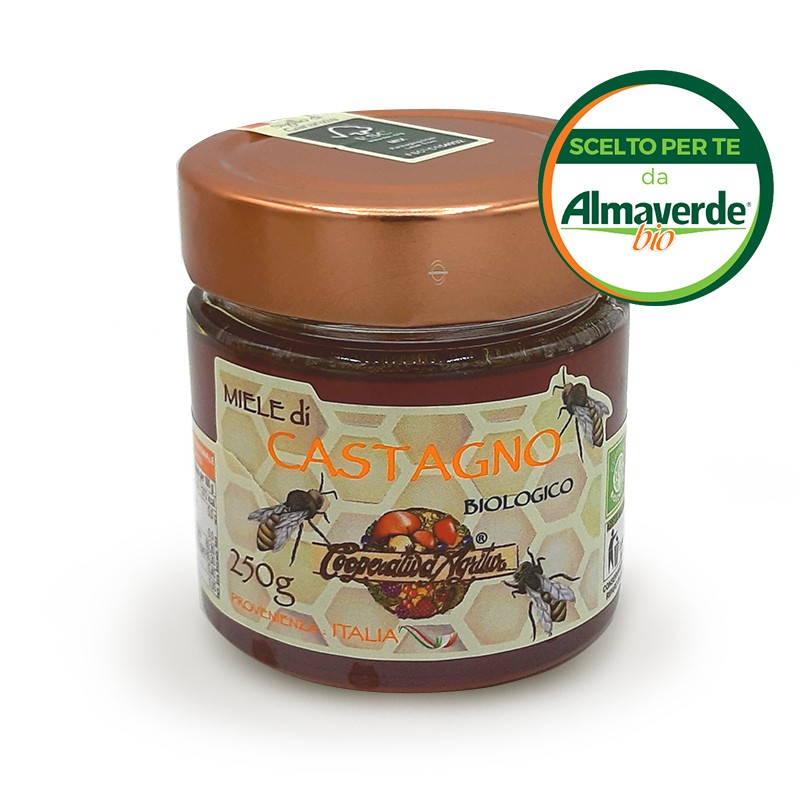 Miele di CASTAGNO 250g   Almaverde Bio Shop Online