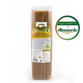 SPAGHETTI di SEMOLA INTEGRALE di grano duro 500g | Almaverde Bio Shop Online
