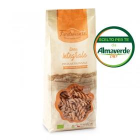 FUSILLI artigianali di SEMOLA INTEGRALE di grano duro 500g| Almaverde Bio Shop Online