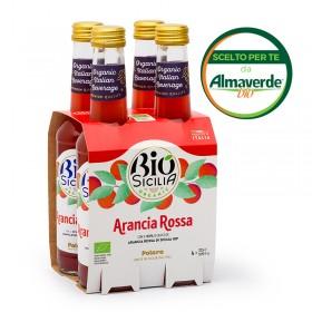 ARANCIA ROSSA 4 bottiglie da 275ml | Almaverde Bio Shop Online