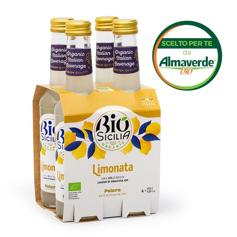 LIMONATA 4 bottiglie da 275ml   Almaverde Bio Shop Online