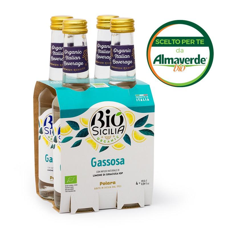 GASSOSA 4 bottiglie da 275ml | Almaverde Bio Shop Online