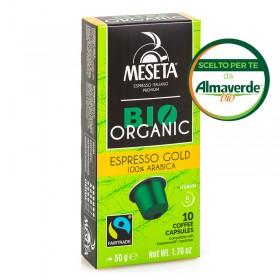Caffè ESPRESSO GOLD in capsule Compatibili Nespresso ® | Almaverde Bio Shop Online