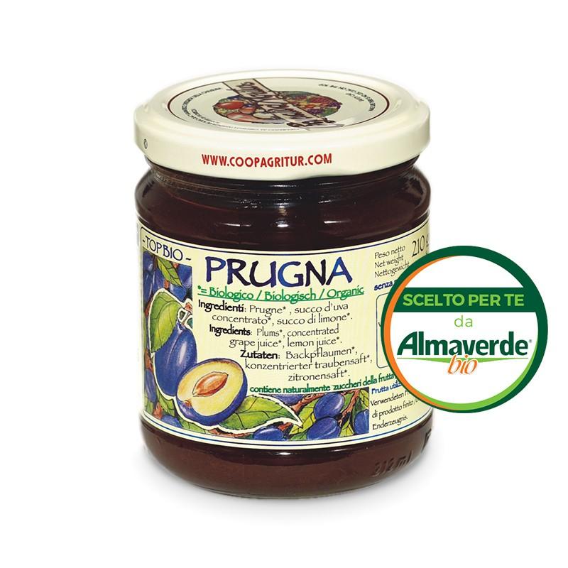 Composta di PRUGNA 120% di frutta 210g | Almaverde Bio Shop Online