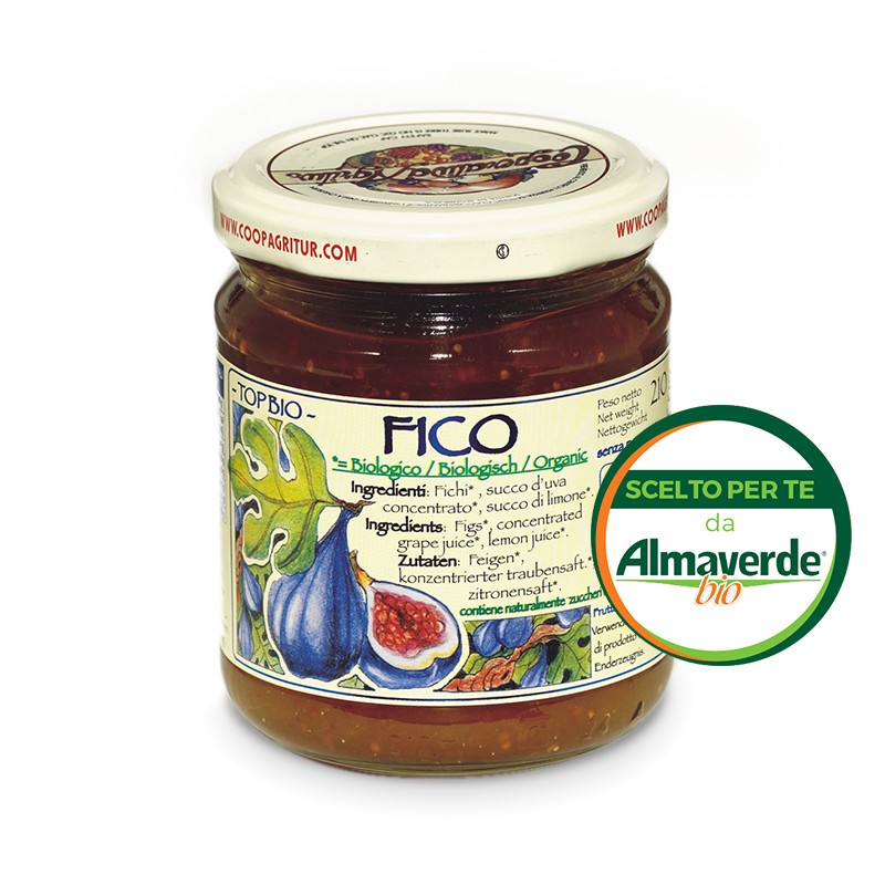 Composta di FICO 80% di frutta 210g   Almaverde Bio Shop Online