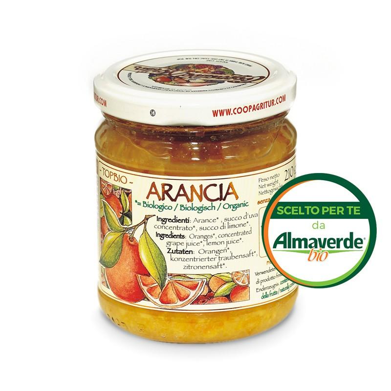 Composta di ARANCIA 90% di frutta 210g | Almaverde Bio Shop Online