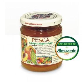 Composta di PESCA 130% di frutta 210g | Almaverde Bio Shop Online