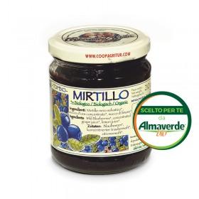 Composta di MIRTILLO 130% di frutta 210g | Almaverde Bio Shop Online