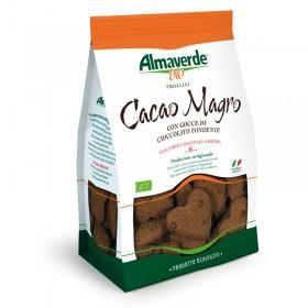 Biscotti Biologici Frollini al cacao magro 250g | Almaverde Bio Shop Online