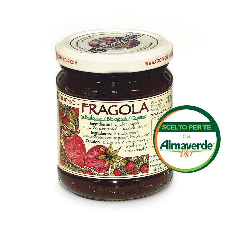 Composta di FRAGOLA 150% di frutta 210g   Almaverde Bio Shop Online