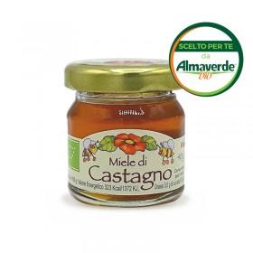 Miele di CASTAGNO mignon 40g | Almaverde Bio Shop Online