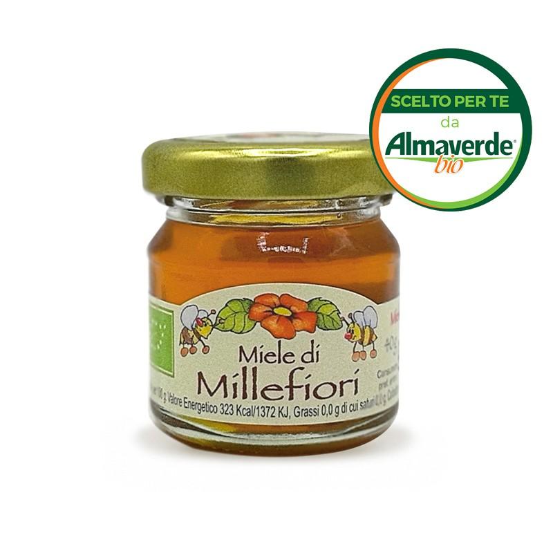 Miele di MILLEFIORI mignon 40g   Almaverde Bio Shop Online