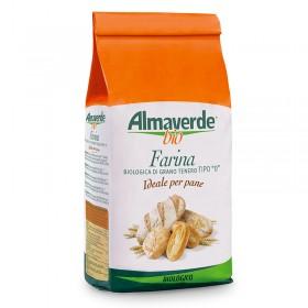 Farina biologica di Grano tenero tipo '0' per Pane 1000g | Almaverde Bio Shop Online