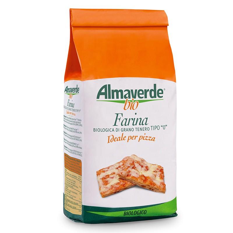 Farina di Grano tenero tipo '0' per Pizza 1000g | Almaverde Bio Shop Online