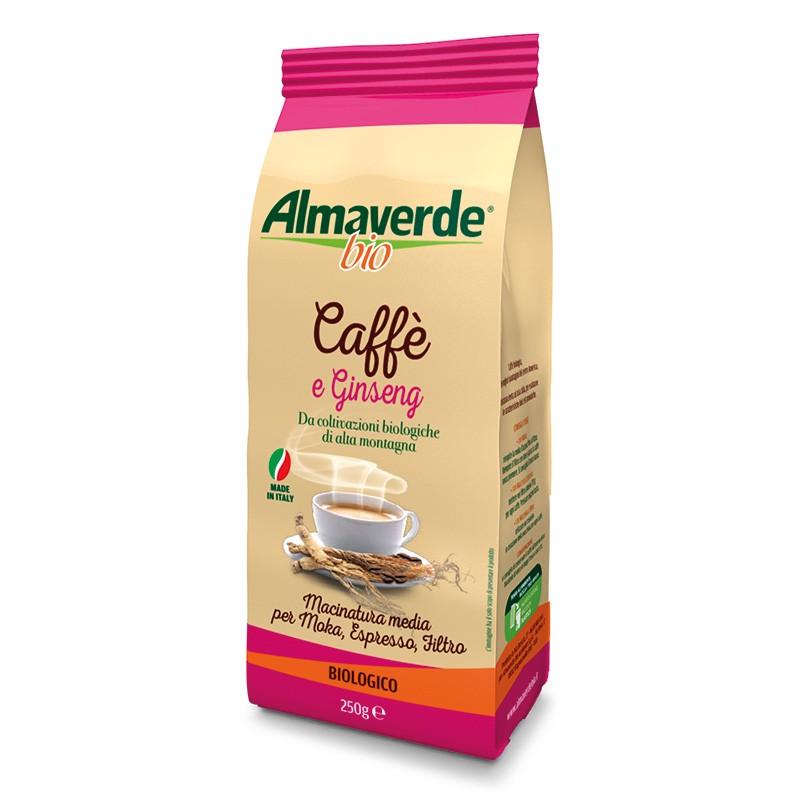 Caffè e Ginseng Biologico 250g | Almaverde Bio Shop Online