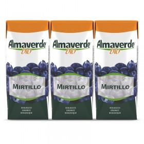 Succhi di frutta bio  Mirtillo 3x200ml | Almaverde Bio Negozio Online